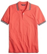 Brooks Brothers Boys' Color Tipped Piqué Polo Shirt - Big Kid