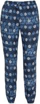 Jette Joop Plus Size Printed batiste trousers