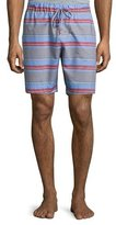 Hanro Evan Striped Drawstring Shorts, Multicolor
