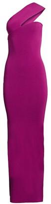 SOLACE London Lavena One-Shoulder Maxi Dress