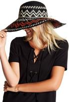 Helen Kaminski Geometric Crochet Wide Brim Hat