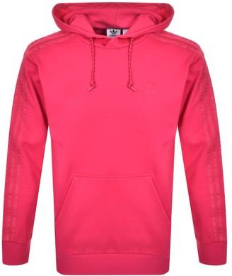 adidas Winterised Hoodie Pink