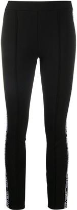 Karl Lagerfeld Paris Side Stripe Slim-Fit Leggings
