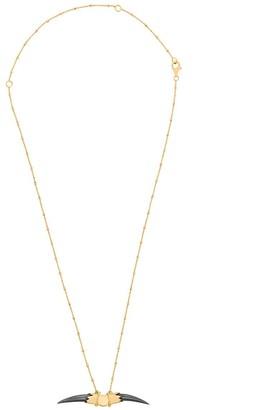 Kasun London Double Claw pendant necklace