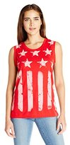 Levi's Women's Stars and Stripes Muscle T-Shirt