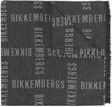 Dirk Bikkembergs all over logo scarf