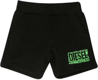 Diesel Black Shorts