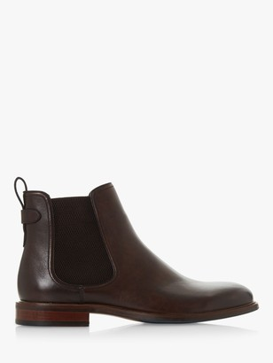 Dune Character Leather Chelsea Boots