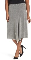 Nic+Zoe Plus Size Women's Frosted Fall Knit Skirt