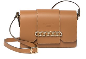 Persaman New York Mira Leather Crossbody Bag