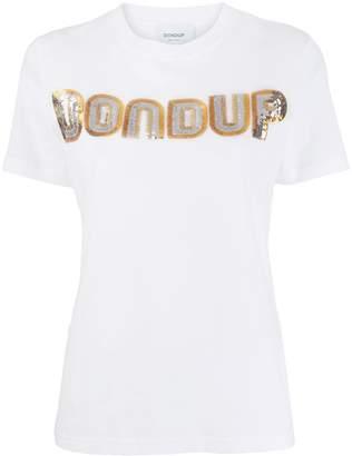 Dondup sequin logo T-shirt
