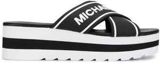 MICHAEL Michael Kors cross strap sandals