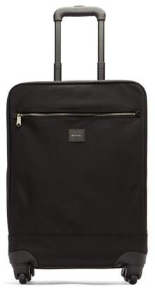 Paul Smith Signature Striped Cabin Suitcase - Mens - Black