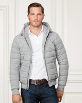 Ralph Lauren Quilted Cotton Jersey Jacket