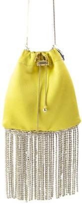 Rosantica Fatalina Jewel Fringe Bucket Bag