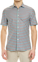 SABA Clarke Check Short Sleeve Shirt
