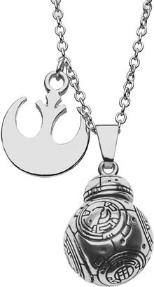 Star Wars BB-8 Rebel Charm Pendant Necklace