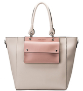 Melie Bianco Bone Carter Front-Pouch Tote
