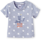 Petit Bateau Baby boy tee in printed jersey stockinette
