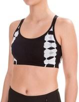 Spalding Tie-Dye Sports Bra - Medium Impact (For Women)