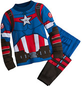 Disney Captain America Costume PJ PALS for Boys