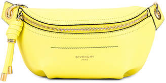 Givenchy Contrast Mini Whip Belt Bag in Fluo Yellow | FWRD