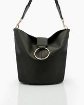 Le Château Pebble Faux Leather Hobo Bag