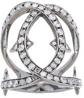 Loree Rodkin Spiked Diamond Loop Ring