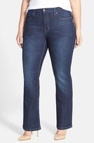 Melissa McCarthy Plus Size Women's Stretch Slim Bootcut Jeans