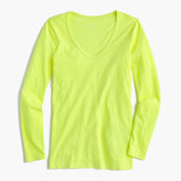 J.Crew Vintage cotton long-sleeve scoopneck T-shirt