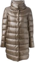 Herno high collar padded coat