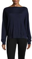 Prada Linea Rossa Wool Rib Side Split Sweater