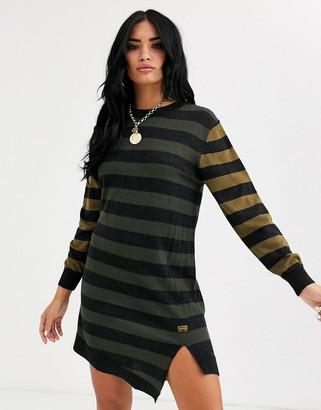 G Star G-Star stripe dress-Black