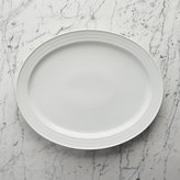 Crate & Barrel Roulette Large Oval Platter