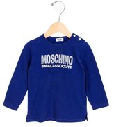 Moschino Boys' Graphic Print Long Sleeve Shirt
