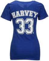 5th & Ocean Women's Matt Harvey New York Mets Foil Player T-Shirt