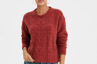 American Eagle AE Impossibly Soft Cable Knit Sweater
