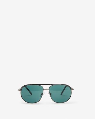 Express Metal Frame Sunglasses