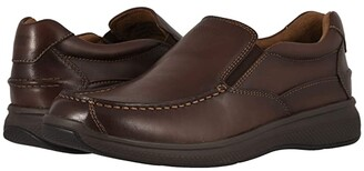 Florsheim Great Lakes Moc Toe Slip-On (Brown Smooth) Men's Shoes