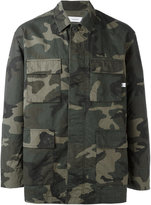 Facetasm camouflage shirt - men - Cotton/Nylon - 4