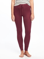 Old Navy Rib-Knit Sleep Leggings for Women