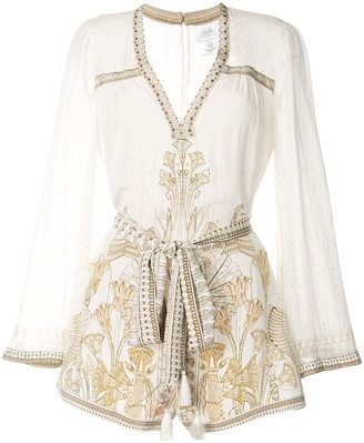 Camilla The Queens Chamber playsuit