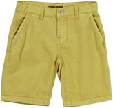 7 For All Mankind Chino Shorts (Toddler/Kids) - Misted Yellow-10