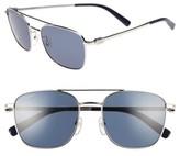 Salvatore Ferragamo Men's Gancio 53Mm Navigator Sunglasses - Gold