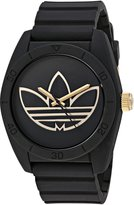 adidas Men's 'Santiago' Quartz Rubber and Silicone Casual Watch, Color: (Model: ADH3197)