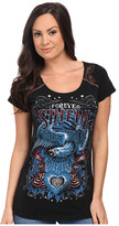 Affliction Memorial Short Sleeve Fashion Tee