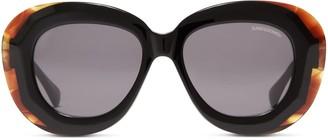 Oliver Goldsmith Sunglasses Norum 1958 Black Amber