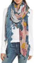 Treasure & Bond Women's Floral Fantasy Tassel Scarf