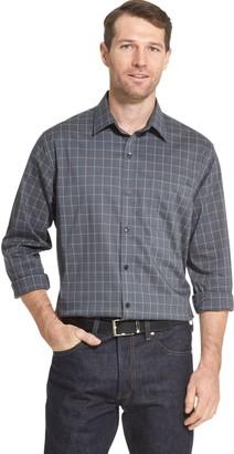 Van Heusen Men's Traveler No-Iron Regular-Fit Button-Down Shirt