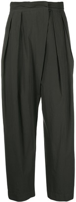 Lemaire High-Waisted Wide Trousers